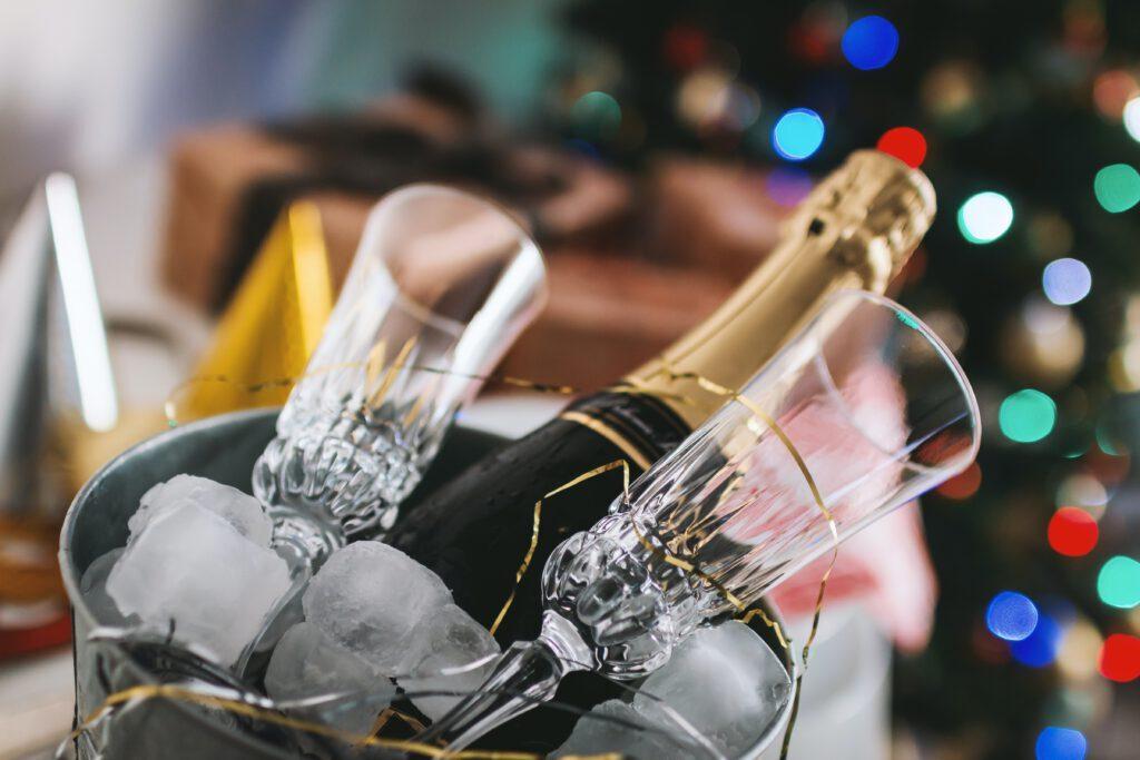 Teurer Champagner