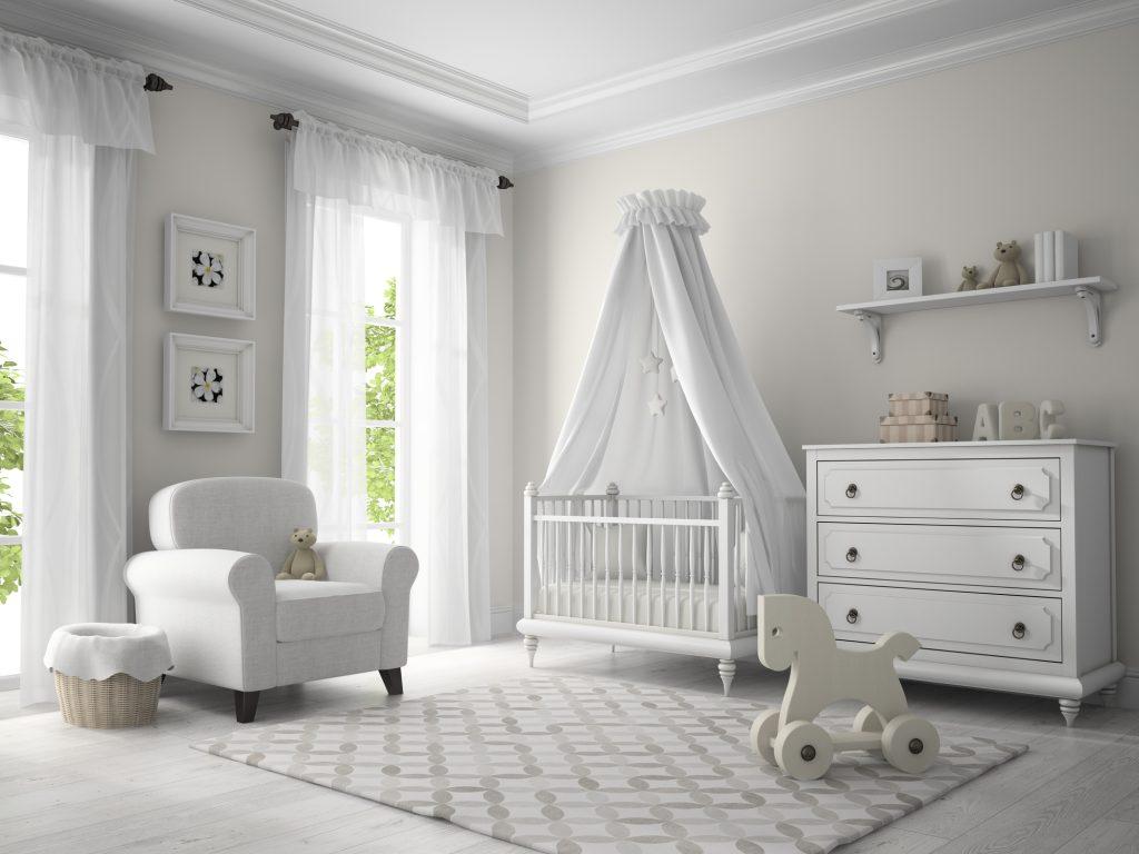 Luxus Babybett